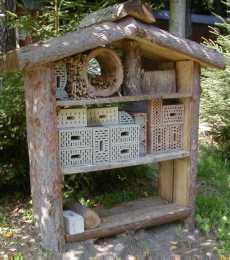 Wildbienenstand